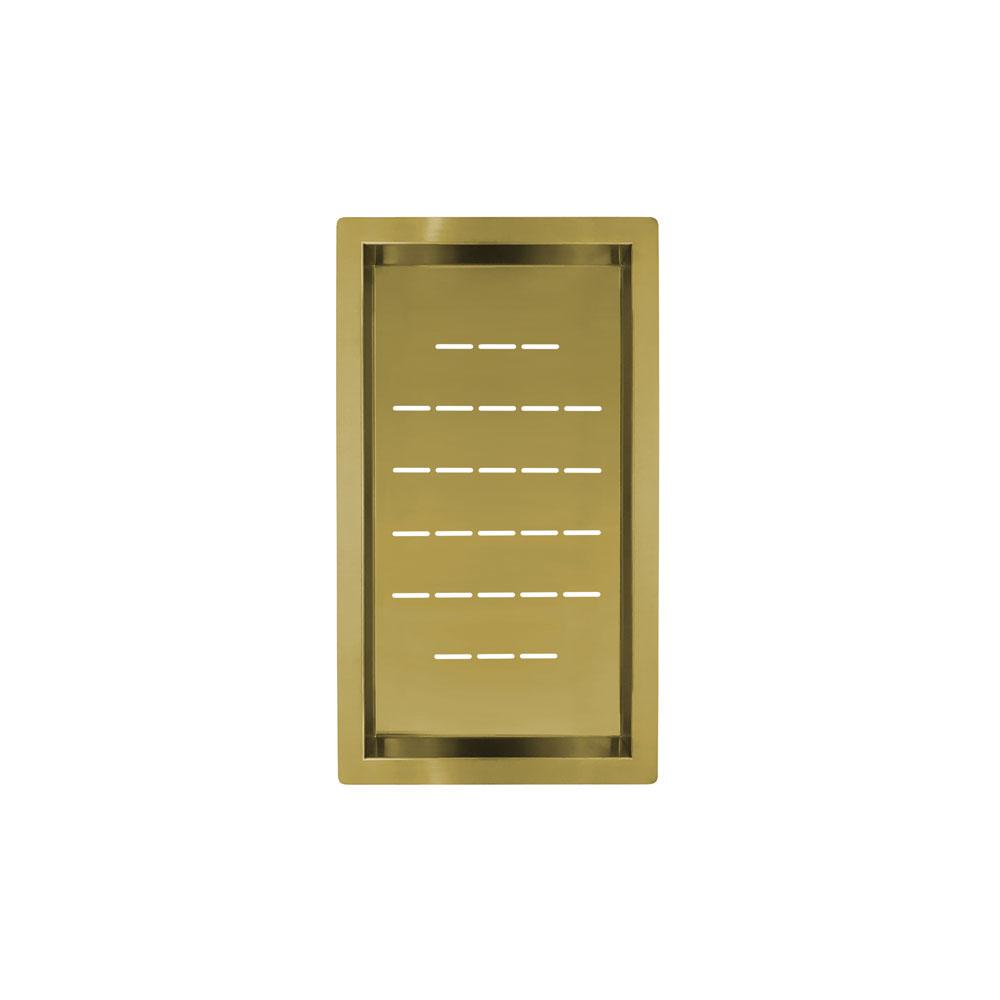 Ouro/Latão Tigela Filtro - Nivito CU-WB-240-BB