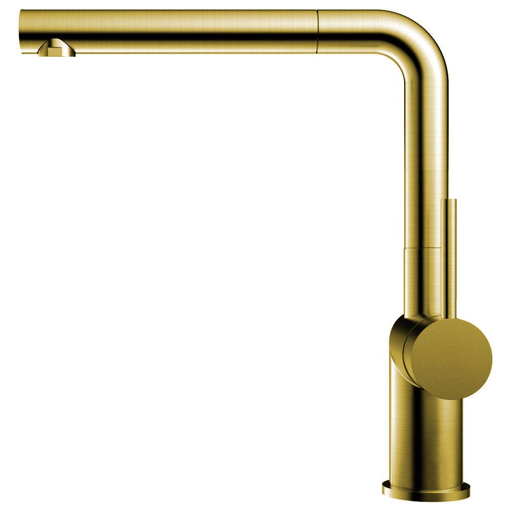Ouro/Latão Sistema De Torneiras Mangueira de arrancamento - Nivito RH-640-EX