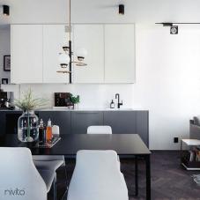 Preto Torneira De Cozinha - Nivito 11-RH-320
