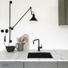 Cozinha torneira preto