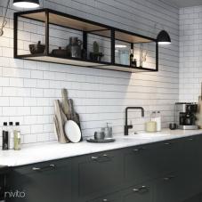 Preto Torneira De Cozinha - Nivito 22-RH-320