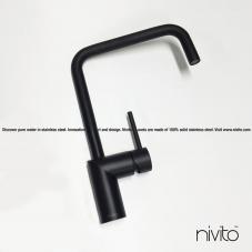 Preto Torneira De Cozinha - Nivito 23-RH-320