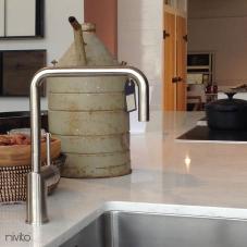 Aço Inoxidável Torneira De Cozinha - Nivito 3-RH-300