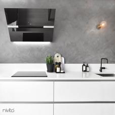 Preto Torneira De Cozinha - Nivito 3-RH-320