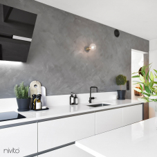 Preto Torneira De Cozinha - Nivito 4-RH-320