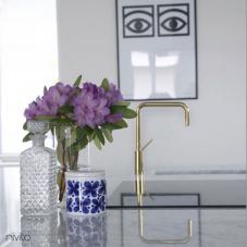 Ouro latão misturador torneira