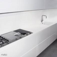 Aço Inoxidável Torneira De Cozinha - Nivito 5-RH-300