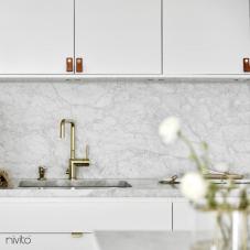 Ouro latão cozinha sistema de torneiras