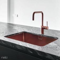 Cobre Torneira De Cozinha - Nivito 1-RH-350