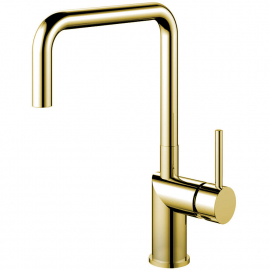 Ouro/latão Torneira De Cozinha - Nivito RH-360